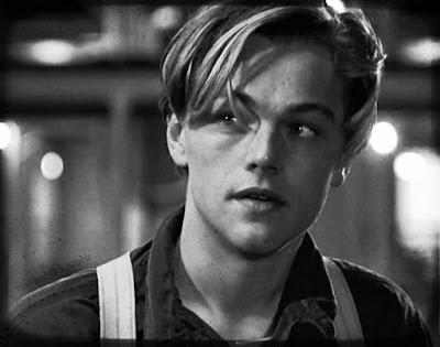Leonardo DiCaprio en el papel de Jack en la película Titanic