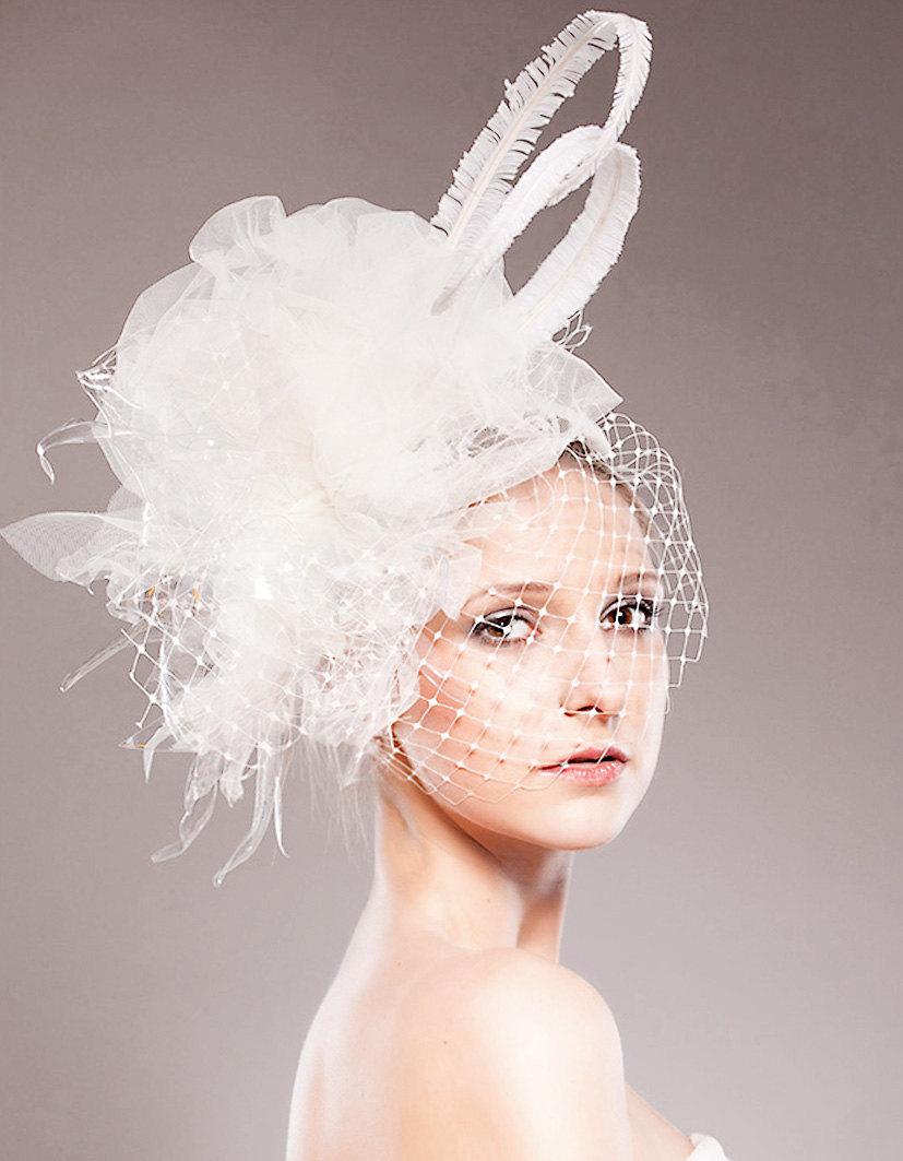 Dawn J S Fashion Wedding Gown Bridal Fascinators
