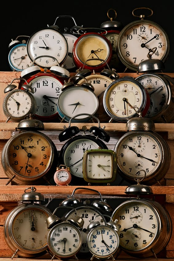 Dishfunctional designs collecting displaying collections of clocks - Antique clock designs for your home ...