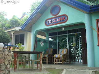 Tuscana Cottage, Artistic Diving, Sipalay City