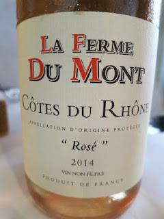 La Ferme Du Mont Rosé 2014 - AC Côtes du Rhône, France (87-88 pts)