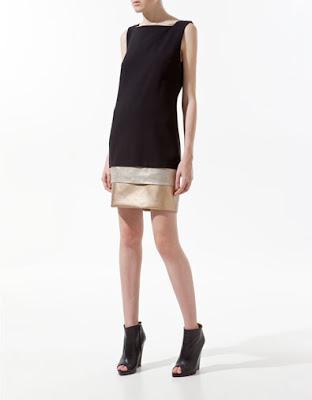 Zara layered dress