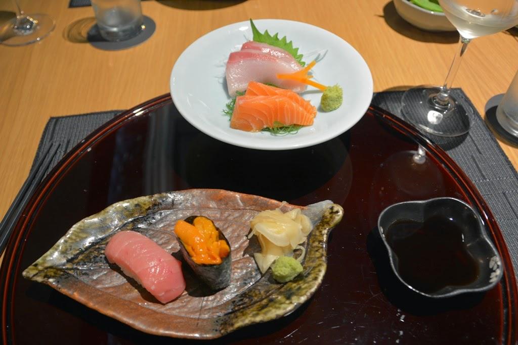 Restaurant Tatsu Kuala Lumpur sashimi sushi