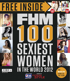 FHM Top Sexiest Women 2012