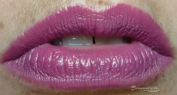 Too Faced Melted Liquified Long Wear Lipstick in Melted Fig: lip swatch cool light