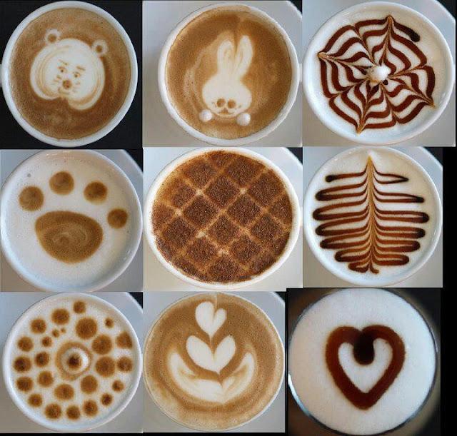 Latte art - como fazer - espuma decorada café expresso