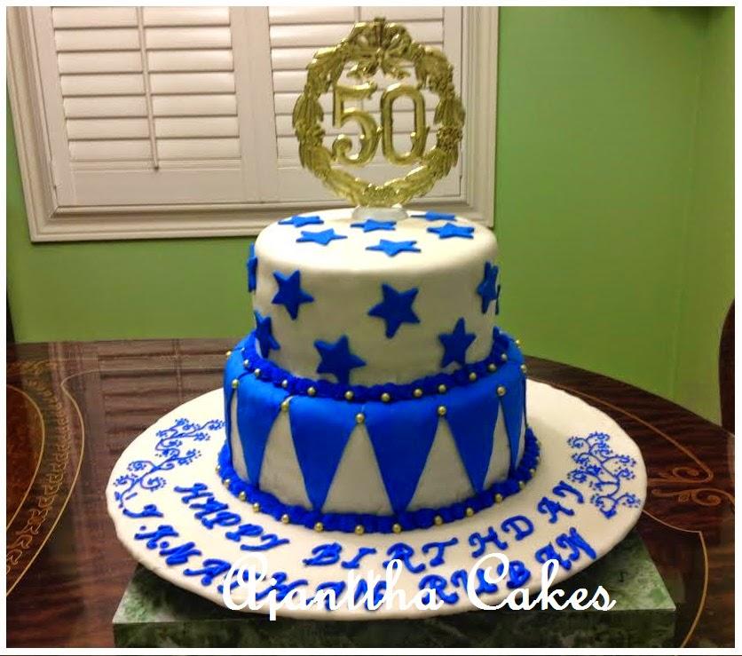 Ajantha Cakes/50th Bithday Cake