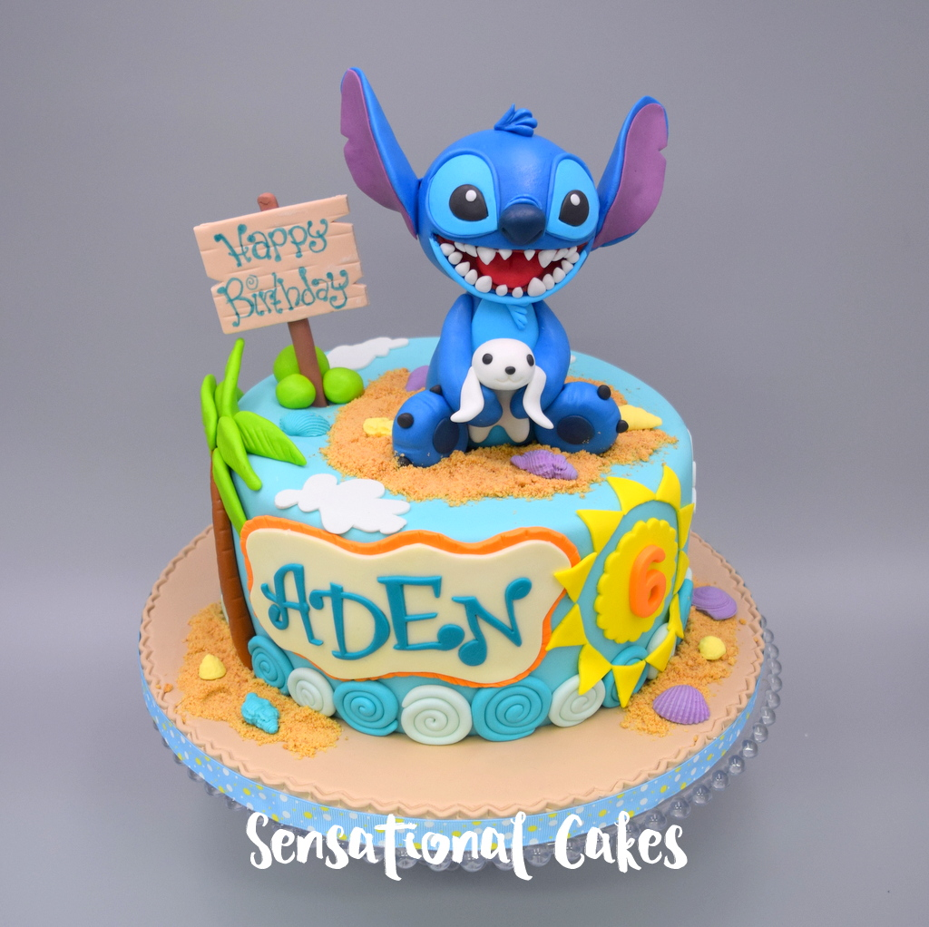 The Sensational Cakes Lilo And Stitch Boy Birthday Theme 3d Cake
