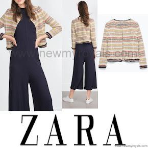 Princess Marie Style ZARA Jacquard Jacket