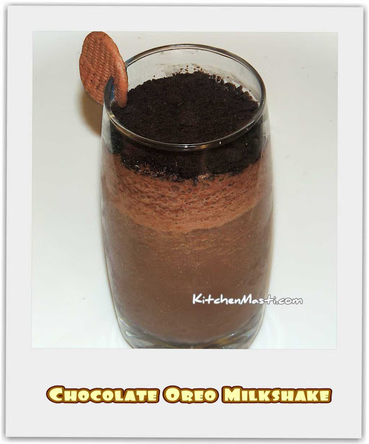 Chocolate Biscuit Drink