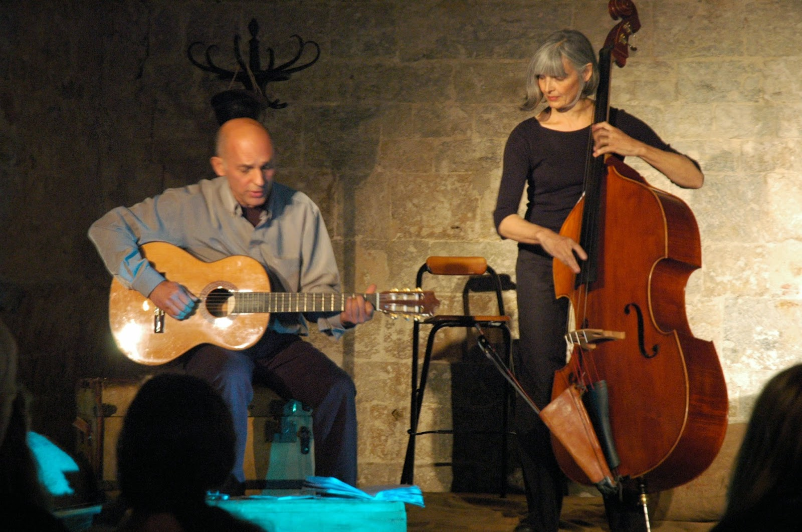 Renat Sette et Christiane Ildevert