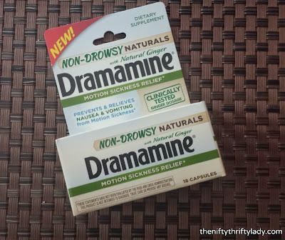 Dramamine new formaula