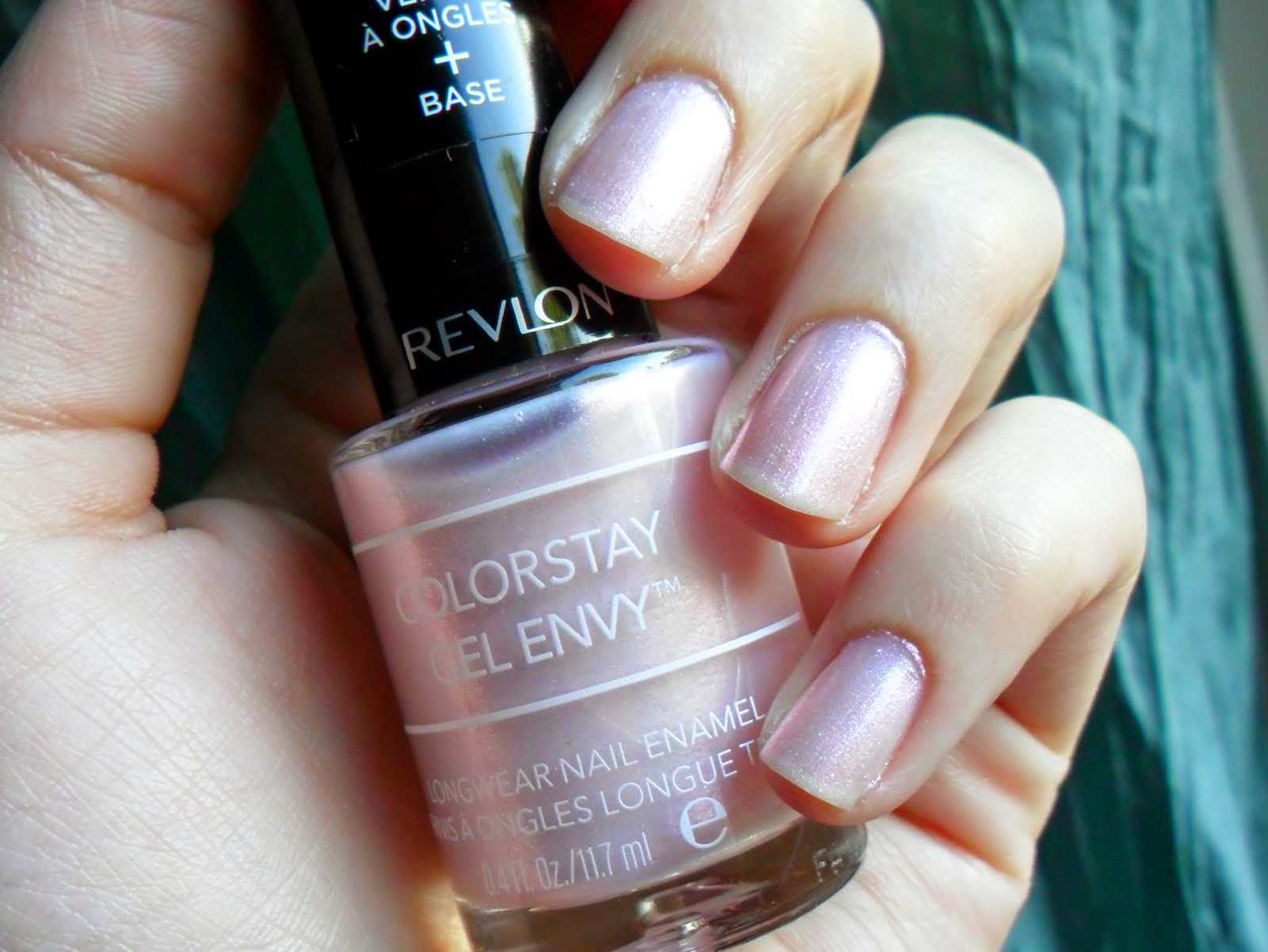 NOTD: Revlon Colorstay Gel Envy Longwear Nail Enamel in 030 Beginner