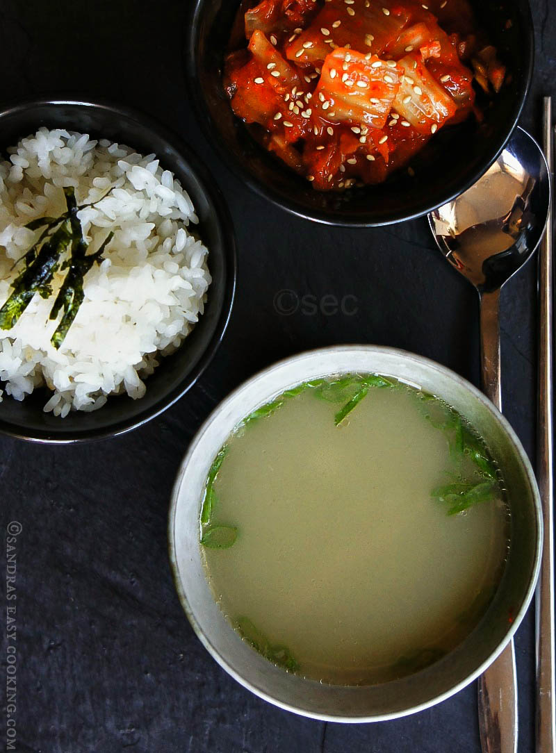 Korean Oxtail Soup recipe | Kkori (kkoli) Gomtang sandraseasycooking.com