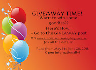 Giveaway ends June 30 (tell her Kitty sent you)