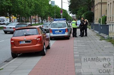 Regelverstoß Parken auf dem Radweg