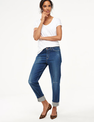 Boden Slim Boyfriend Jeans