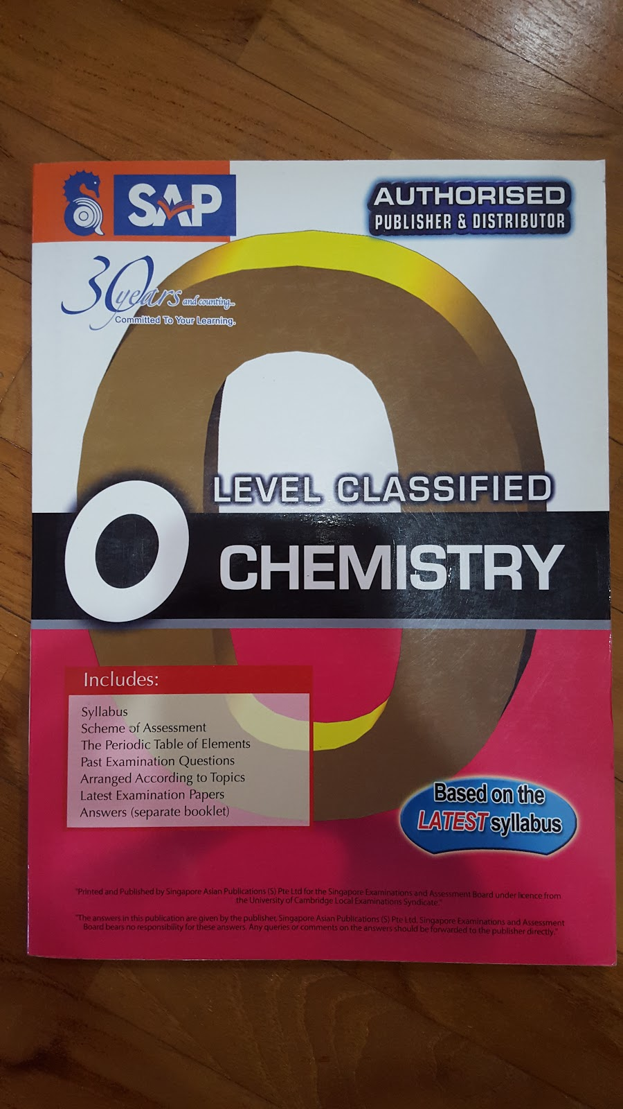 Second hand igcse and gce o level textbooks for sale o levels o level classified chemistry price 3990 3200 condition very good no markings or highlights description consists of past examination questions with urtaz Images
