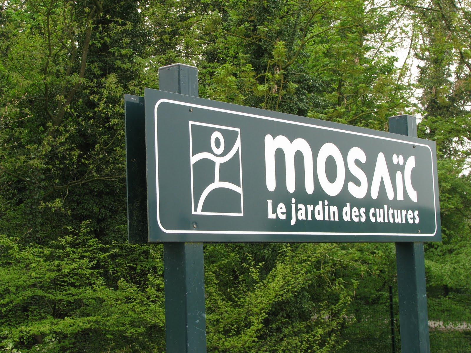 bnq 39 s adventures mosaic parc le jardin des cultures. Black Bedroom Furniture Sets. Home Design Ideas