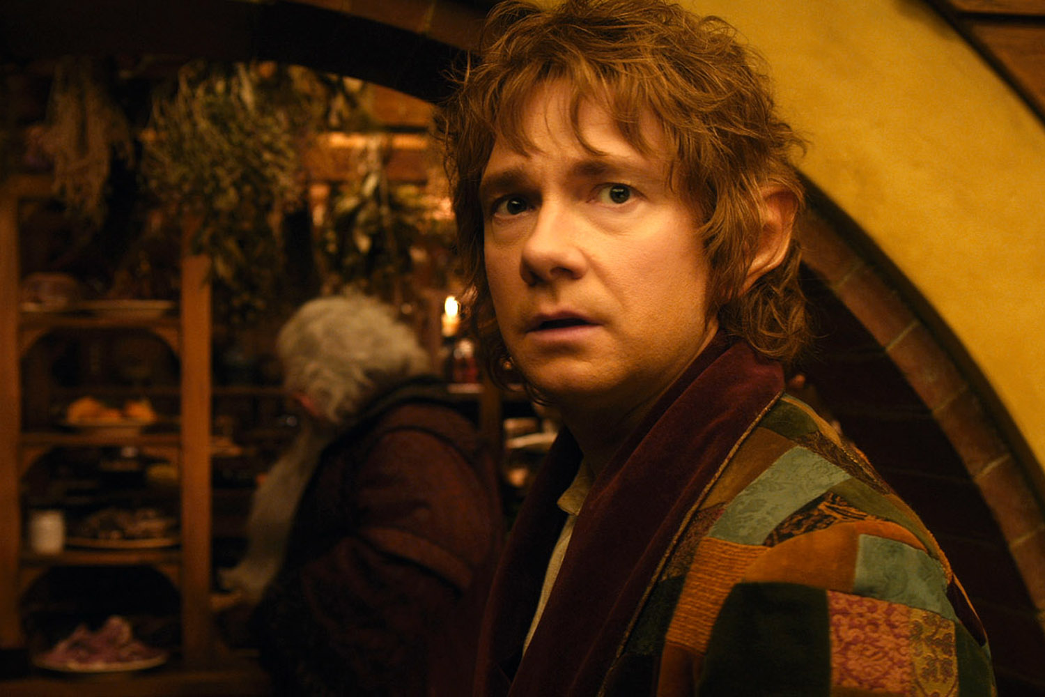 """The epic quest of Martin Freeman as Bilbo Baggins in """"The ..."""