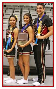 Varsity Captains: Elena Garcia, Alexis Barreto, & Ian Sullivan