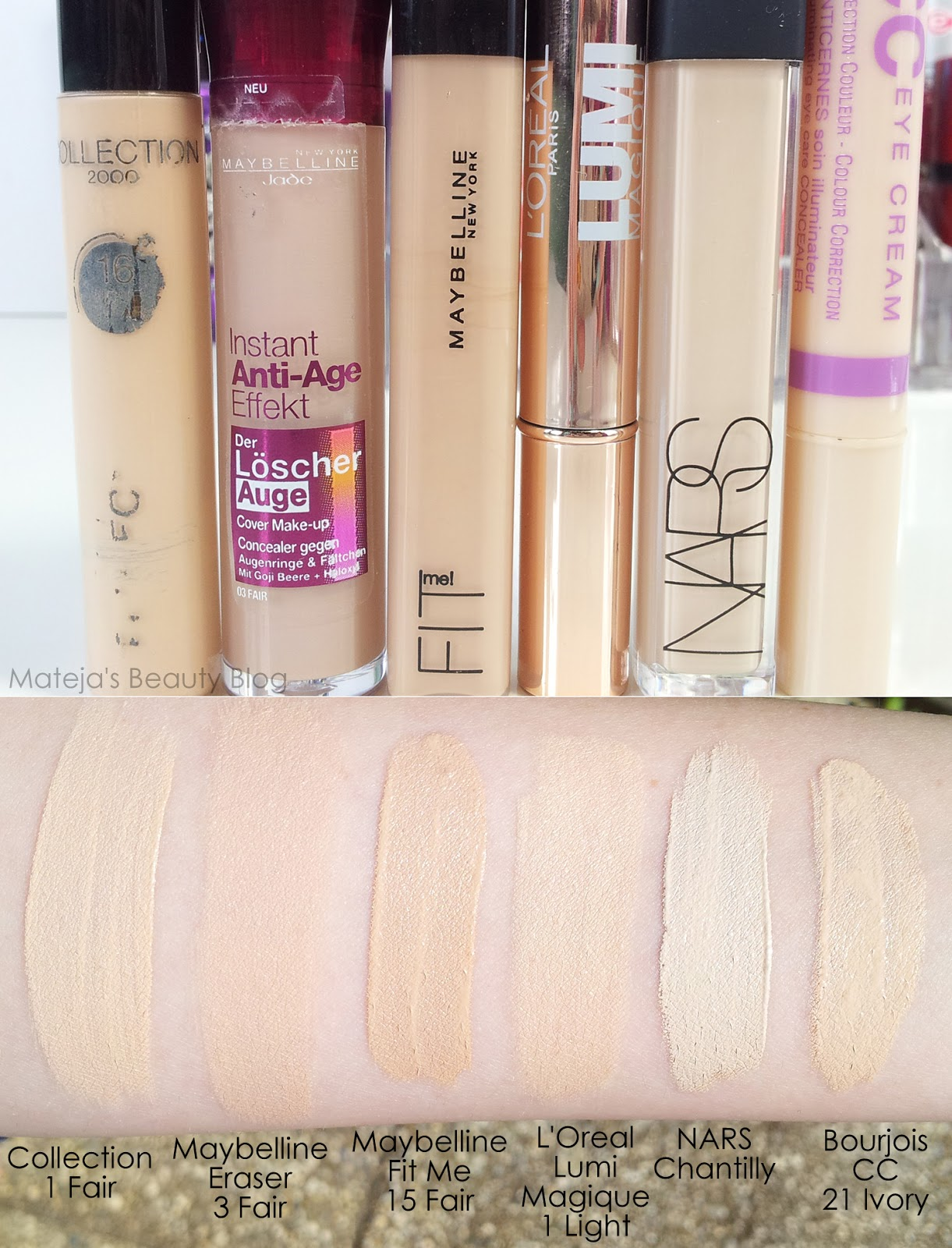 L'Oreal Lumi Magique Concealer - Mateja's Beauty Blog