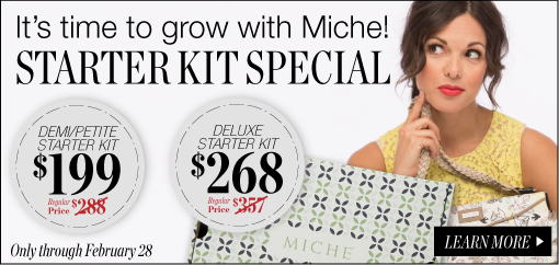 Start your Own Miche Business Today when you Join our Team!