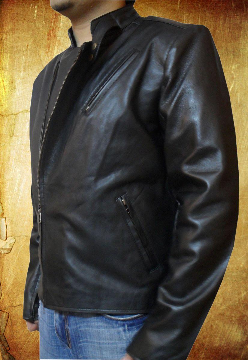 Как сделать мужскую кожаную куртку в 341