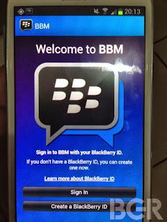 Aplikasi BBM Android Apk Download