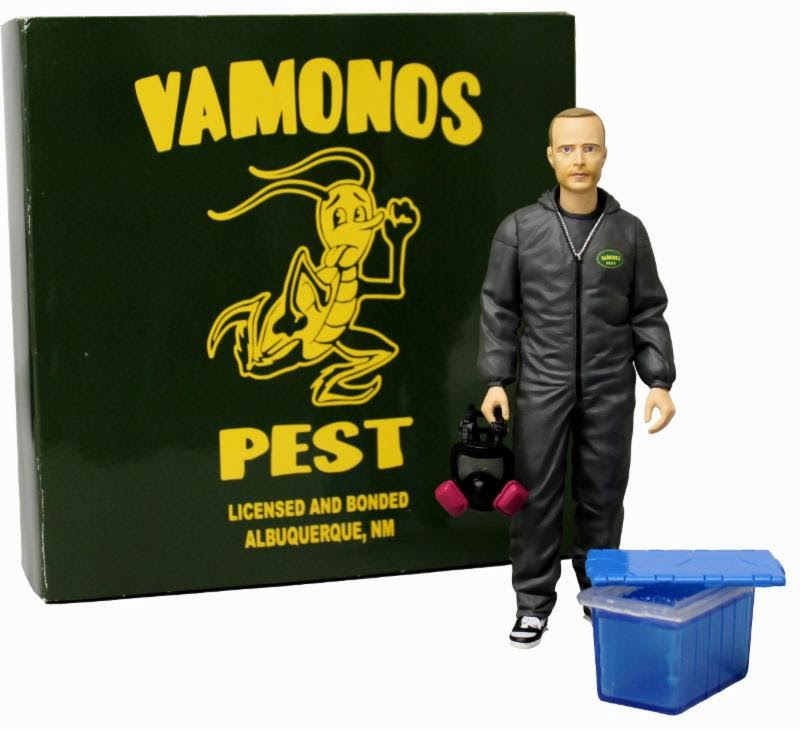 "New York Comic Con 2014 Exclusive Breaking Bad ""Vamonos Pest"" Jesse Pinkman Action Figure by Mezco Toyz"