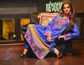 eid long dresses 2013