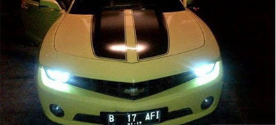 Chevrolet Camaro - Raffi Ahmad