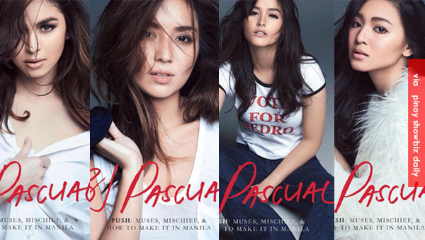 Nadine Lustre, Liza Soberano, Julia Barretto, and Kathryn Bernardo in BJ Pascual's PUSH
