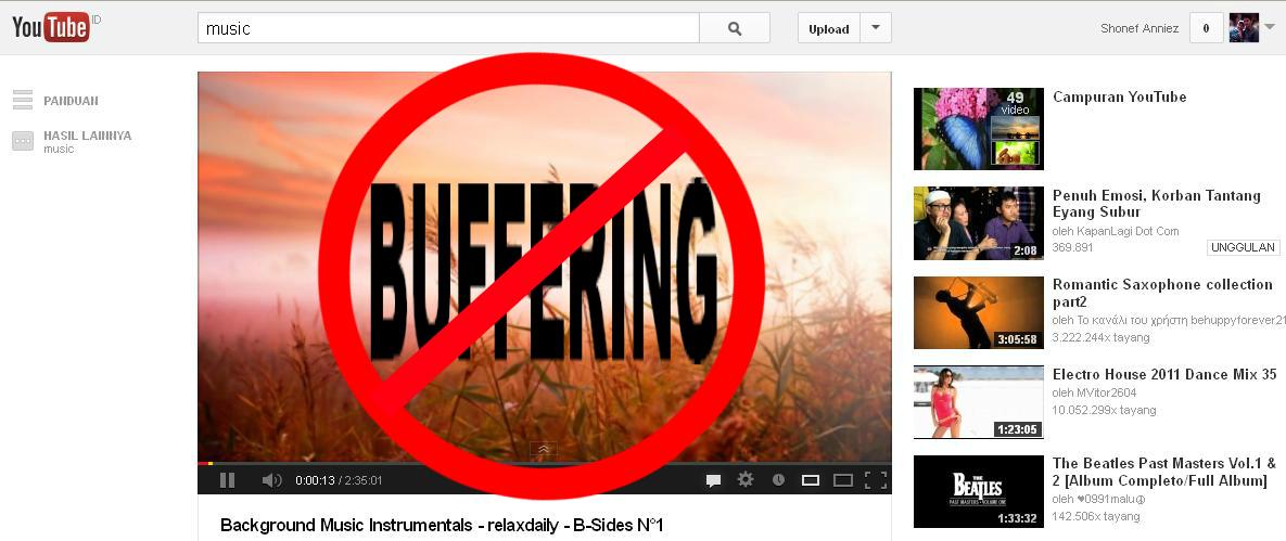 Cara Meningkatkan Kecepatan Streaming YouTube