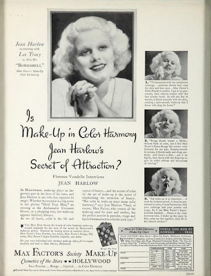 Jean Harlow for Max Factor