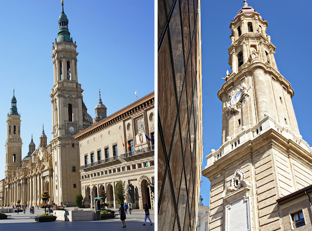 zaragoza's two cathedrals