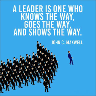 "Staying Alive is Not Enough :A leader is one who knows the way, goes the way, and shows the way. "" John C. Maxwell """