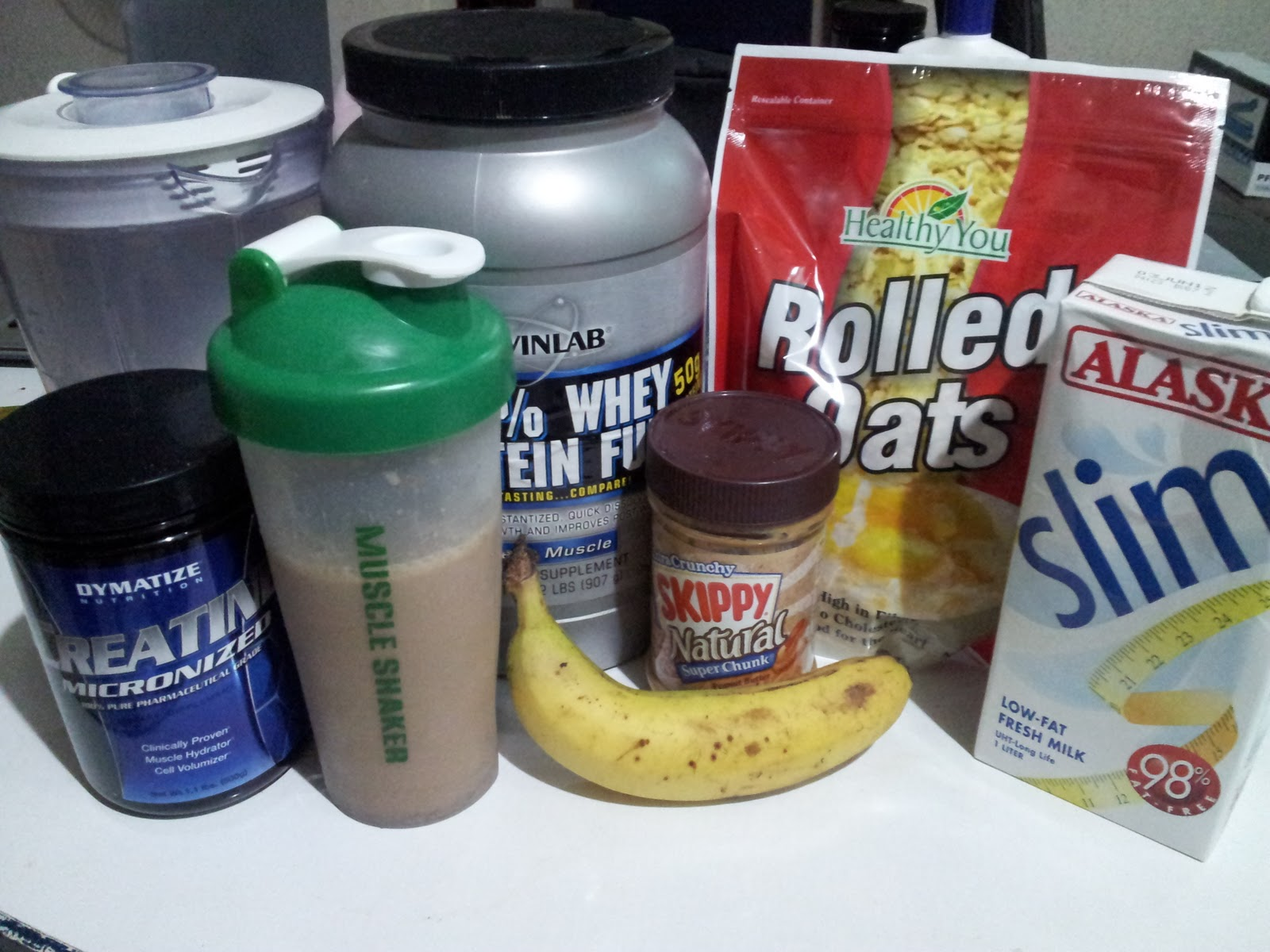 how to make your own protein shake to gain weight