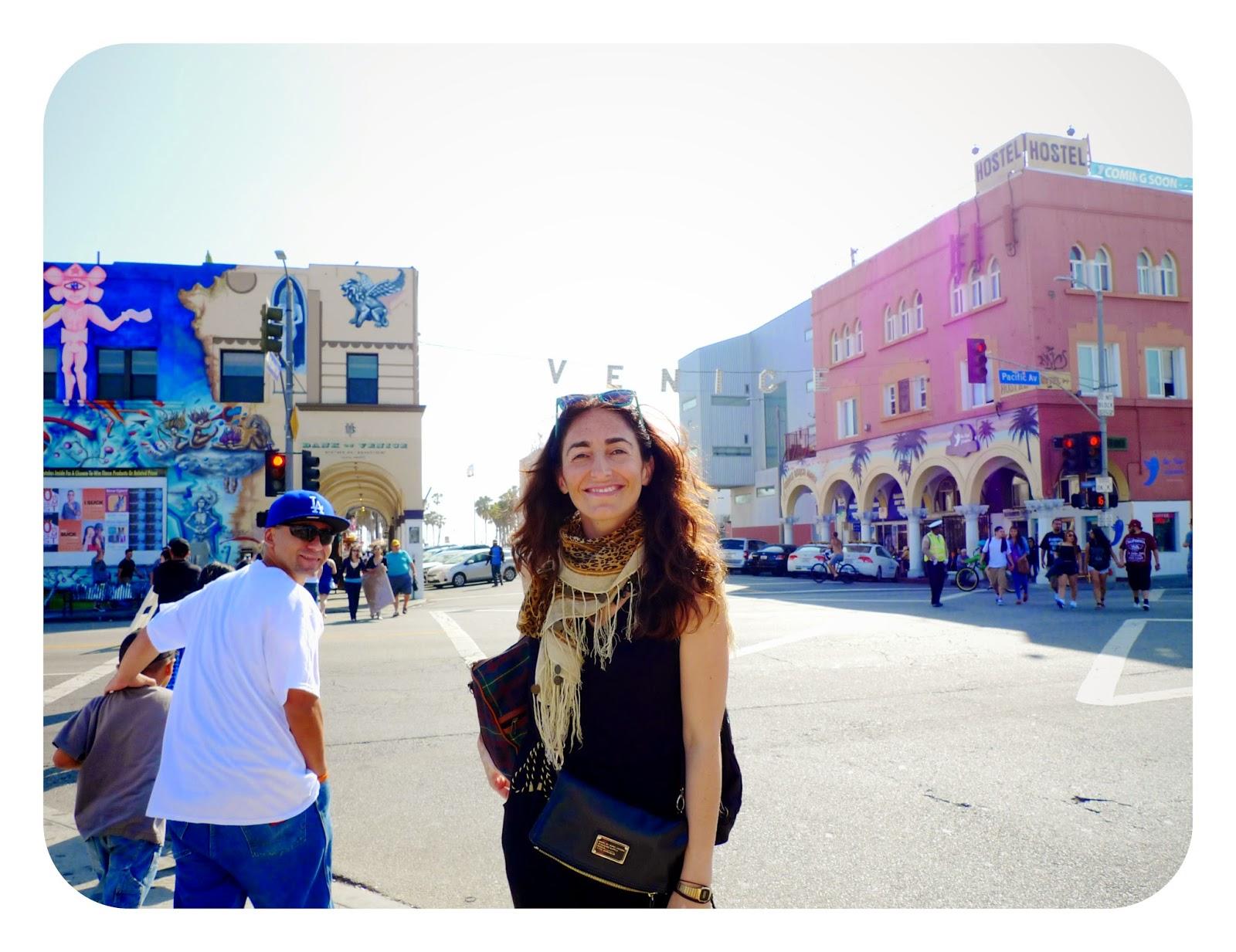 Calles de Venice Beach, en California