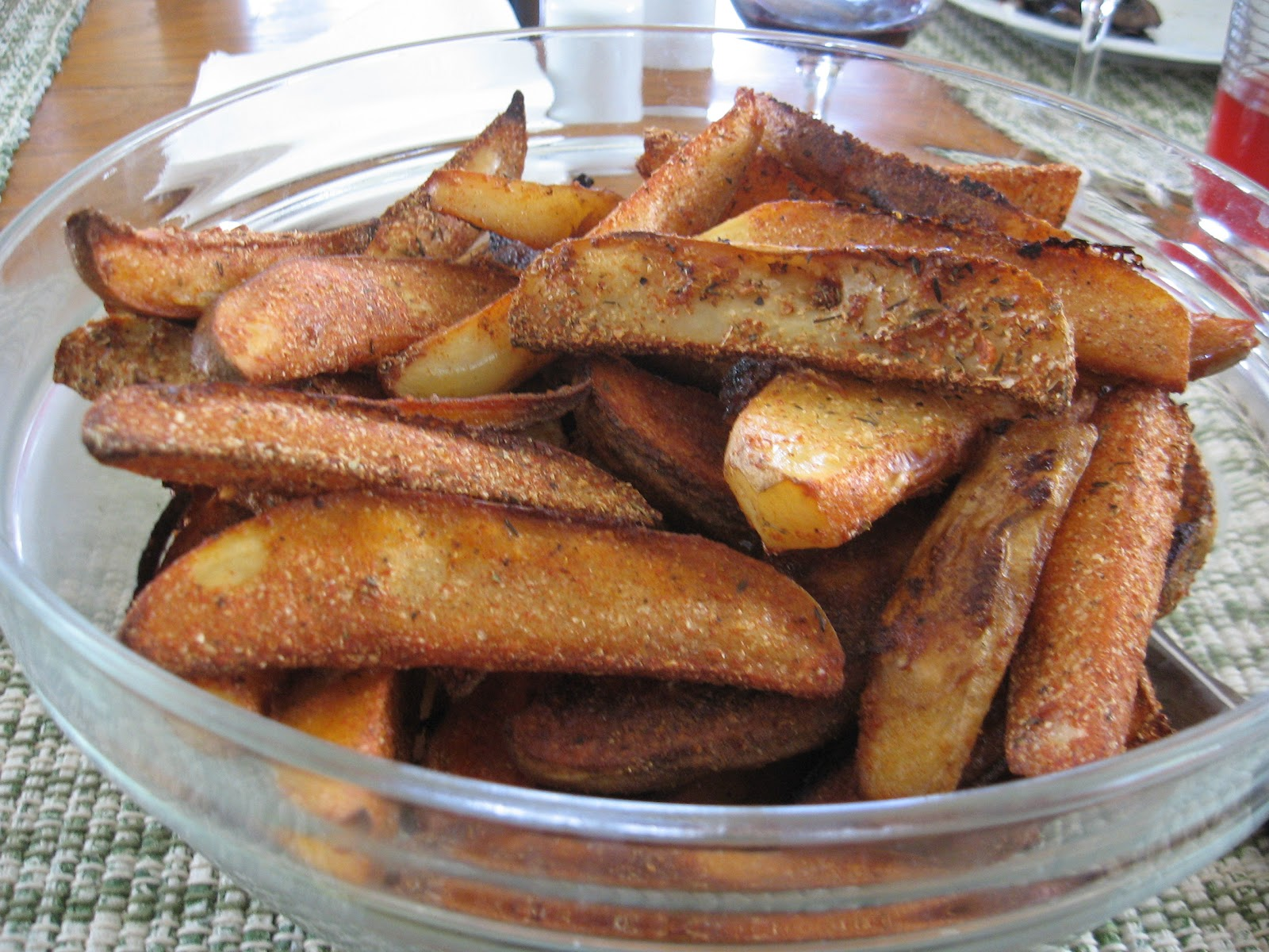 Always Learning: Spicy Oven Fried Potatoes