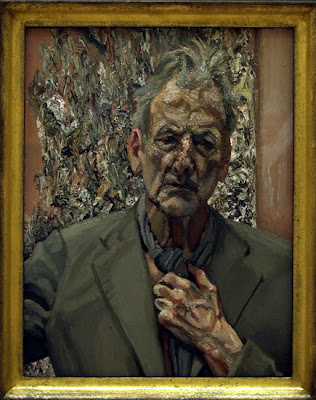 Self portrait by one of UK's most famous artists Lucian Freud