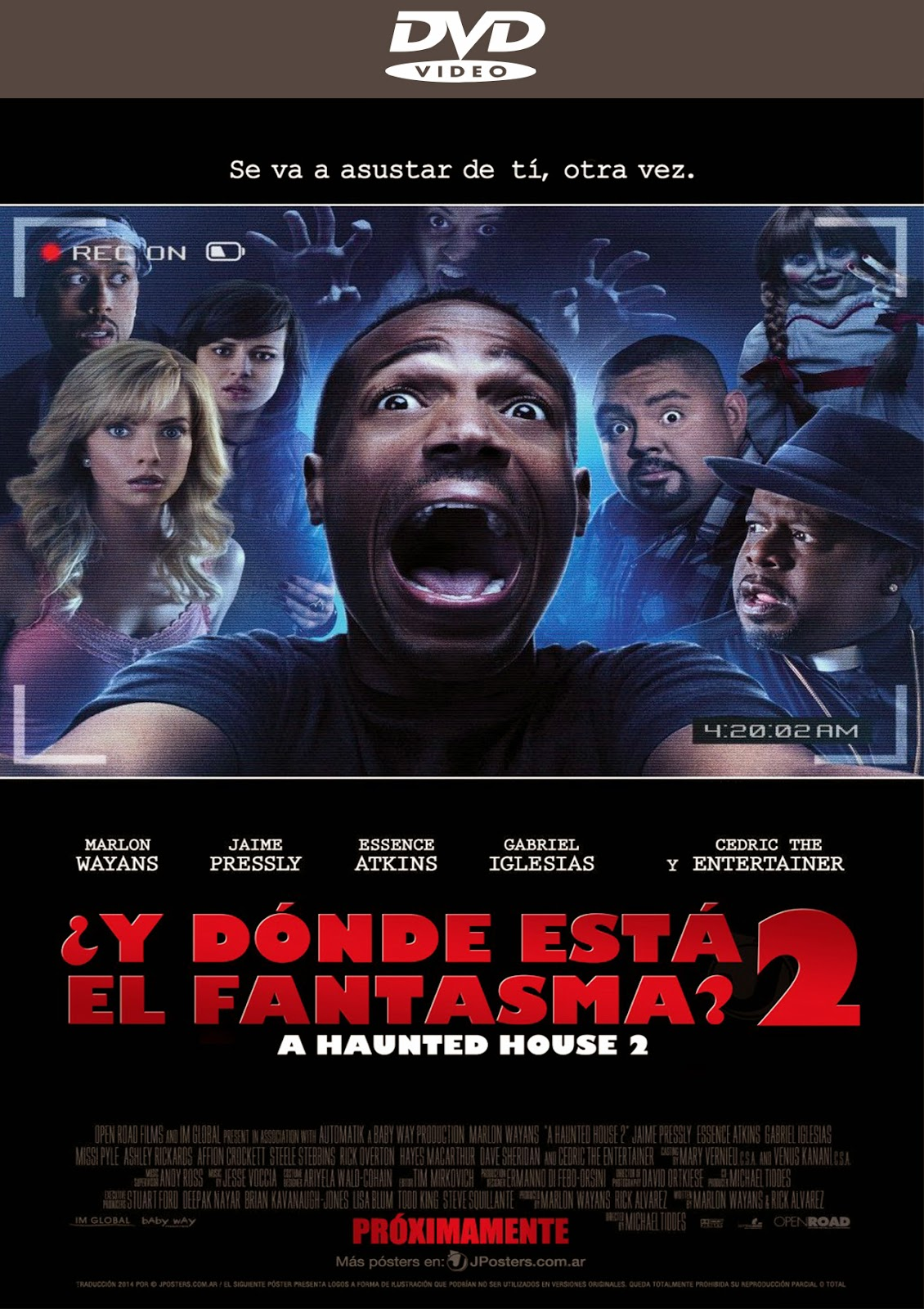 A Haunted House 2 [2014] [Latino/Ingles]