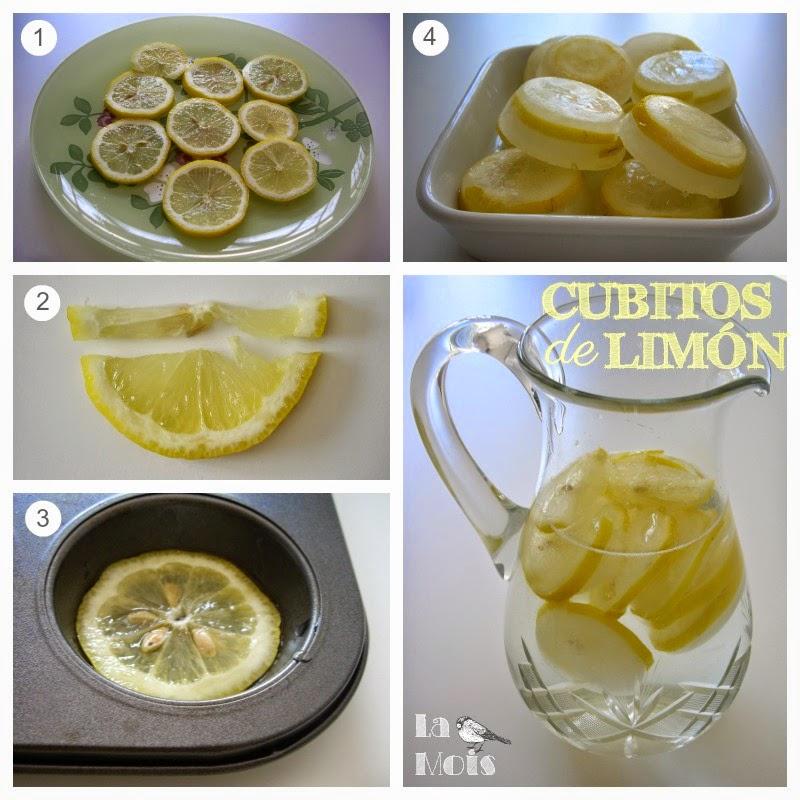 cubitos de limón