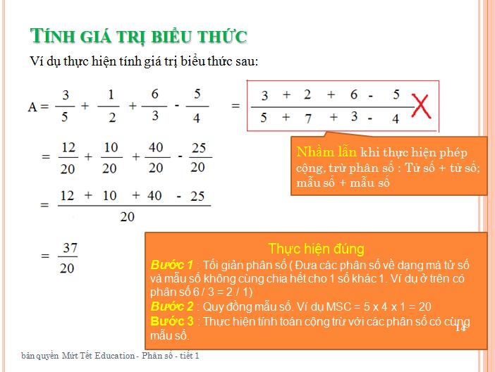Bài tập phân số toán lớp 5 - rút gọn phân số(14)