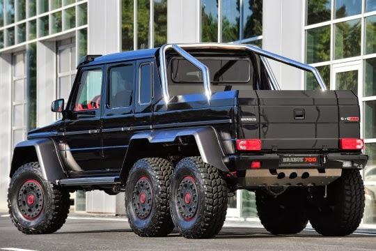 mercedes g 63 amg 6x6 le 6 roues commercialis autonews8. Black Bedroom Furniture Sets. Home Design Ideas