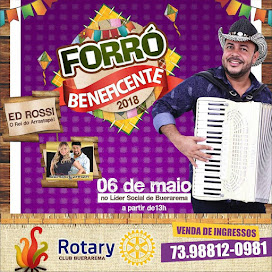 V FORRÓ BENEFICENTE - ROTARY CLUB