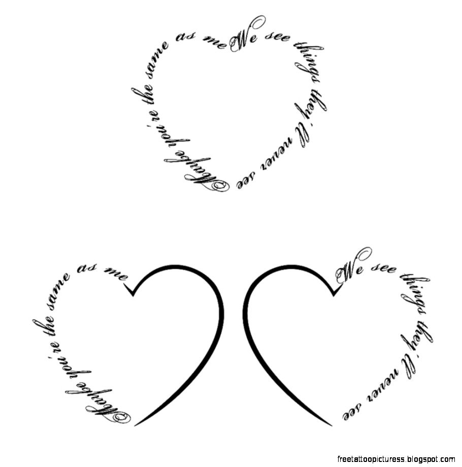Tattoo Heart  Free Tattoo Pictures