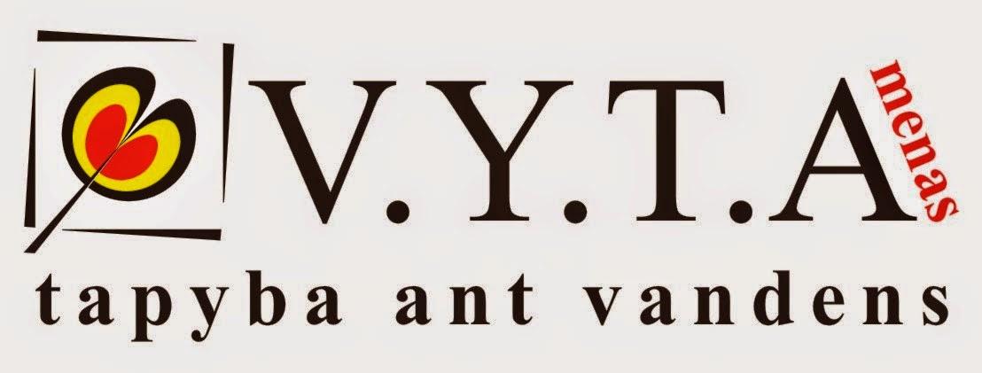 """Vaizdo rezultatas pagal užklausą """"VšĮ Meno terapijos ir socializacijos institutas VYTA logotipas"""""""