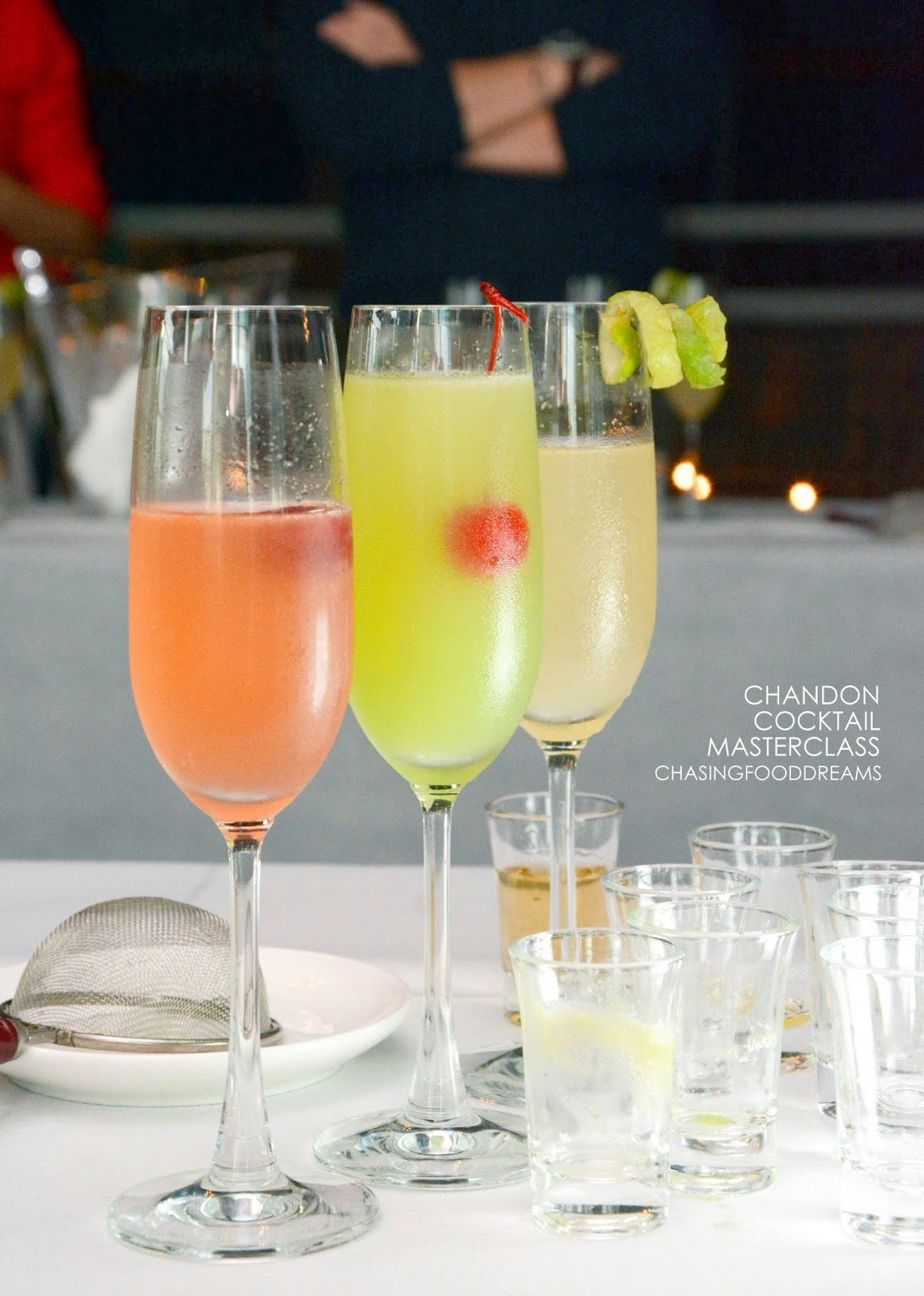 Chasing food dreams chandon cocktail masterclass ft for Cocktail 9 mac