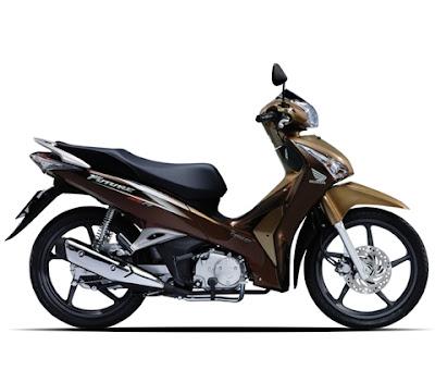 Honda Future 2012 - Nâu Vàng Đen